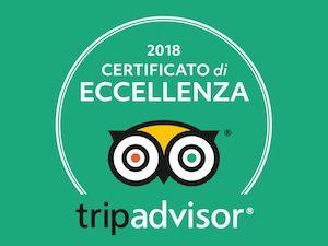 Certificato Eccellenza TripAdvisor Siena Tartufi