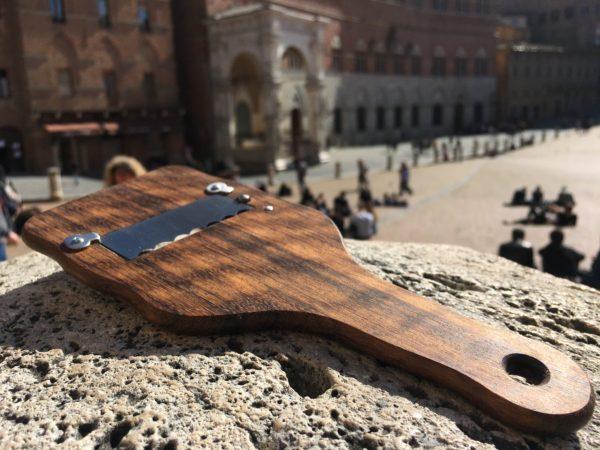 Affettatartufi in palissandro con lama in acciaio inox | Siena Tartufi