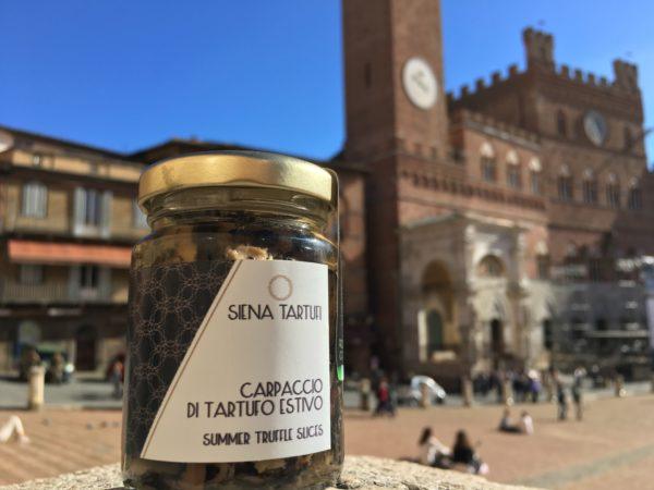 Carpaccio tartufo nero estivo - Siena Tartufi Toscana