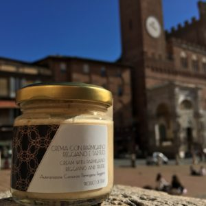 Parmesan cream and white truffle - Siena Tartufi Tuscany