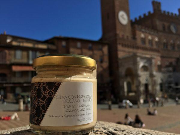 Crema con parmigiano e tartufo - Siena Tartufi Toscana