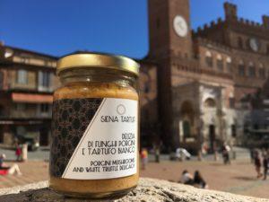 Delizia funghi porcini e tartufo bianco - Siena Tartufi Toscana