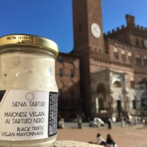 Vegan mayonnaise with black truffle | Siena Tartufi