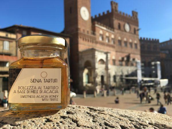 Dolcezza al tartufo a base di miele di acacia | Siena Tartufi