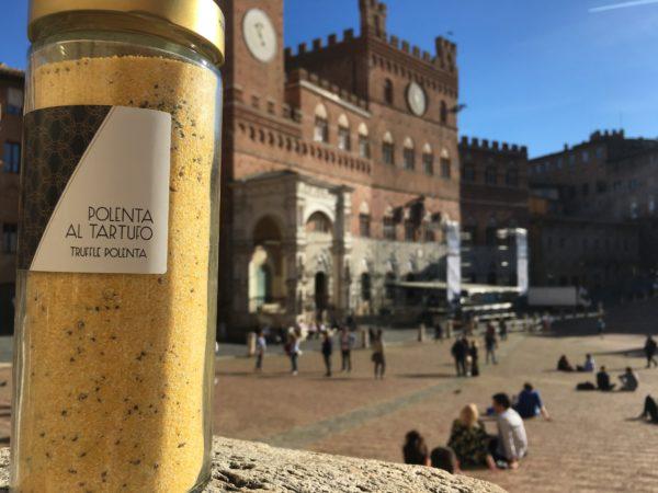 Polenta with white truffle | Siena Tartufi