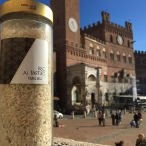 Carnaroli rice with black truffle | Siena Tartufi
