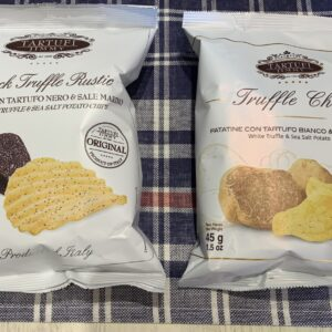 Chips tartufo bianco & tartufo nero