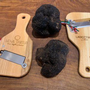 Affettatartufi lagottino in legno | Siena Tartufi